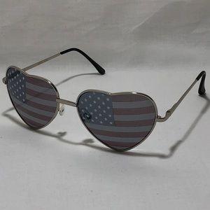 a983f3b89eff Accessories - American Flag Heart Sunglasses